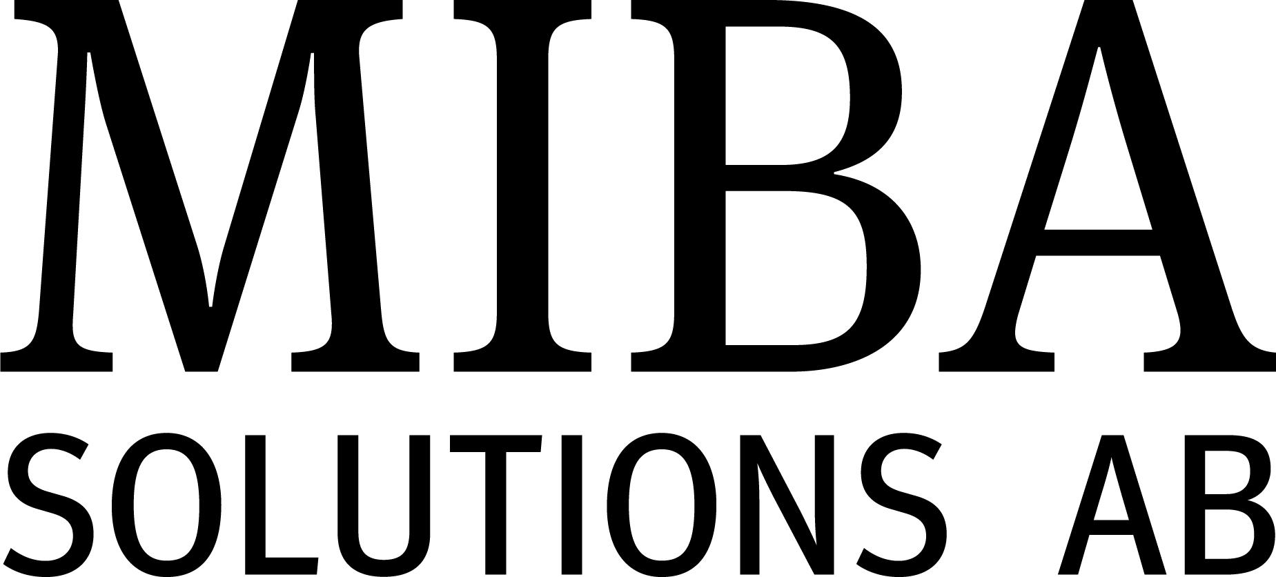 MIBA Solutions AB